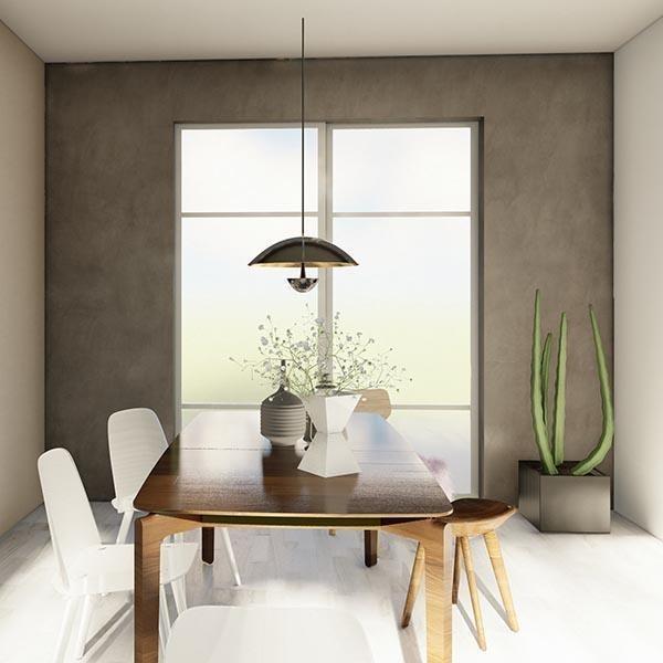 skyvedører med frostet glass og hvite profiler og sprosser