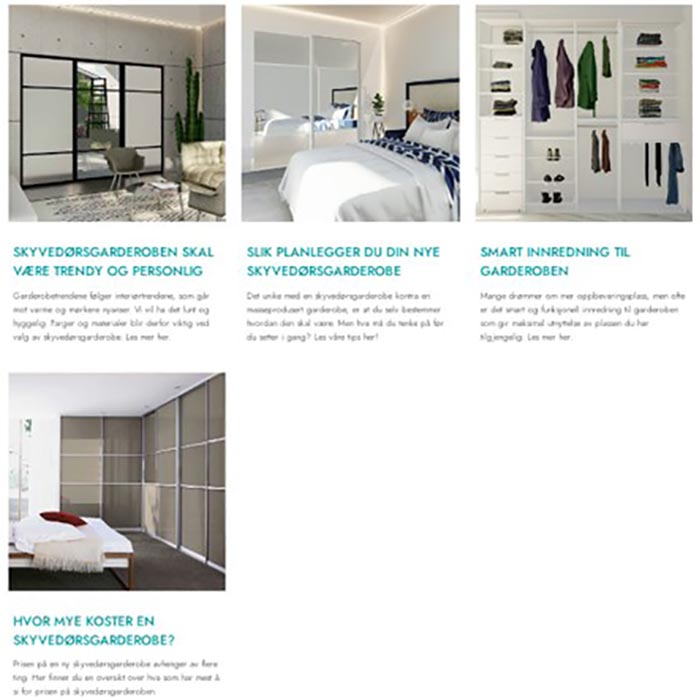 blogginnlegg for garderobe inspirasjon