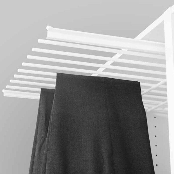 bukseheng er smart innredning til garderoben