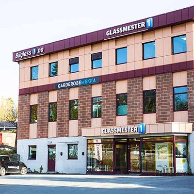 fasaden til Garderobemekka Bærum