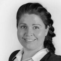Solveig Andrea Hildre er ansatt som salgskonsulent for Garderobemekka Oslo